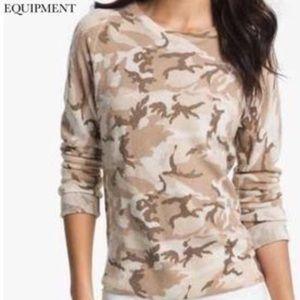 Equipment Femme Camouflage Sloane Sweater