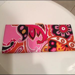 """FREE‼️NWOT Banana Rep100%silk """"Pucci-style"""" clutch"""
