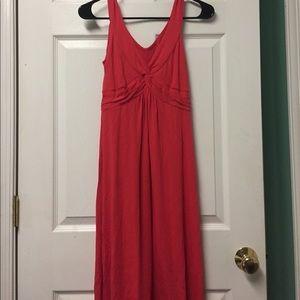 Boden Dresses & Skirts - New Biden Red/orange Twist Front Mack Tank Dress