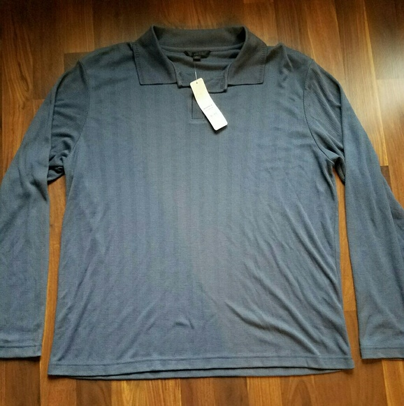 96e54b56 Apt. 9 Shirts | Apt 9 Kohls Long Sleeve Polo | Poshmark
