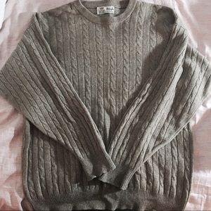 Pringle Other - Pringle of Scotland Cashmere Cable Knit Sweater