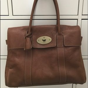 Mulberry Handbags - Mulberry Bayswater in Oak Natural