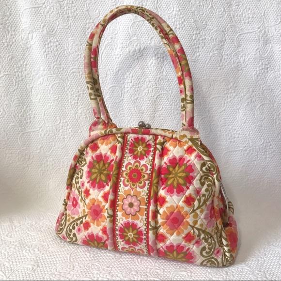 520e942f1a Vera Bradley Folkloric Pattern Eloise Bowler Bag. M 58f0215c4127d04880016155
