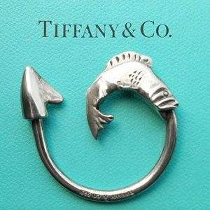 Tiffany & Co. Other - FIRM VTG Tiffany & Co. Sterling Fish Hook Key Fob