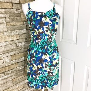 REI Other - REI Co-op Aruba Blue Floral Beach Coverup Dress