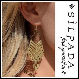 "Silpada Jewelry - 🆕""GRECIAN""FESTIVAL EARRING LIMITED EDITION"
