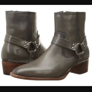 NEW: Frye Dara Harness Short Chelsea Boots