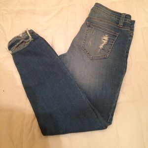 One Teaspoon Denim - NWOT Distressed ankle skinny  jeans