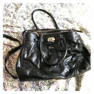 Guess brand satchel handbag