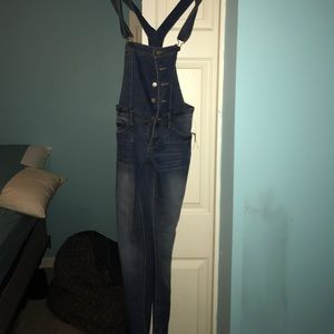 Jean overalls! Never worn still have tags