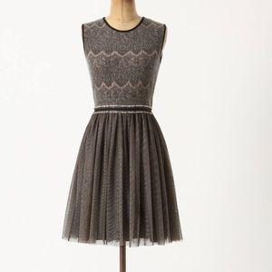 Anthropologie Dresses & Skirts - Anthro Dulcie Tulle Weston Wear Sweater Feminine L