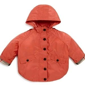 *SOLD* NWT Burberry Baby Infant Rain Coat Size 9 M