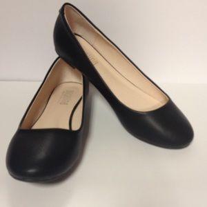 Angelina Shoes - Angelina black flat shoes size 10