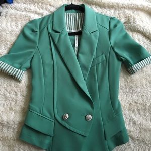 ICON Jackets & Blazers - (Reduced price)Very cute green blazer.