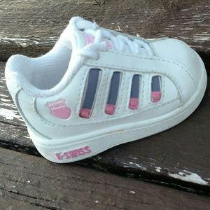 K-Swiss Other - NWOT Baby Girl K-Swiss Size 1c