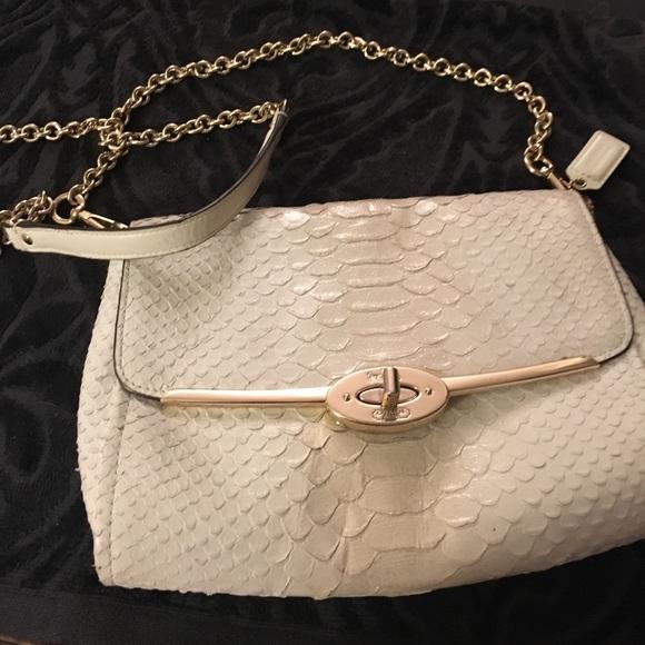 cc4d09e913e3 Coach Madison Pinnacle Python bag - FINAL PRICE