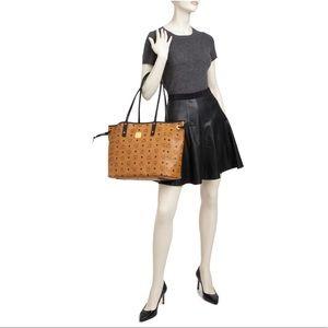 10b186d024367 MCM Bags - 💎MCM💎 Project Visetos reversible tote bag cognac