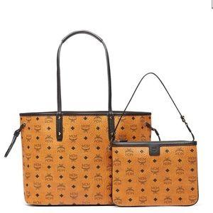 MCM Handbags - 💎MCM💎 NWT Project Visetos reversible tote bag