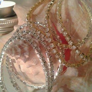Jewelry - Sparkling Rhinestone Bracelets