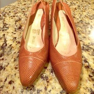 Shoes - RENÉ MANCINI Leather heels .