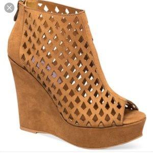 Chelsea & Zoe Shoes - Chelsea & Zoe Wedge Ankle Bootie