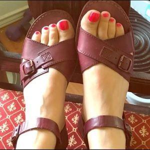 H By Hudson Shoes - NEW H by Hudson Summertime leather sandals 7