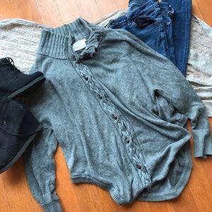 Yoon Sweaters - Yoon grey cardigan size medium