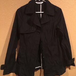 Barbour Jackets & Blazers - Cute black four pocket raincoat🌑☔️🌑