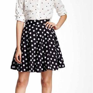 Amanda & Chelsea Dresses & Skirts - EUC Amanda & Chelsea polka dot circle skirt