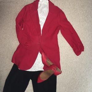 Soho Apparel Jackets & Blazers - Brand new Red Soho Apparel Blazer