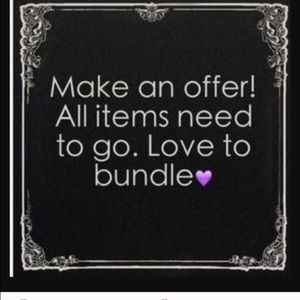 ✨✨MAKE ME AN OFFER I CAN NOT REFUSE!!!!✨✨