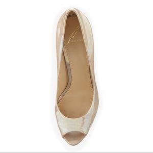 B Brian Atwood Shoes - 💕 B BRIAN ATWOOD bambola iridescent Natural pump