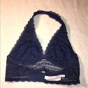 17af74c4c1 Victoria s Secret Intimates   Sleepwear - 🌹 SALE🌹VS ROYAL BLUE LONG LINE  HALTER BRALETTE
