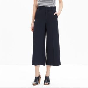 Madewell Pants - FINAL$ MADEWELL STOCKTON CULOTTE PANT BLACK SHORTS