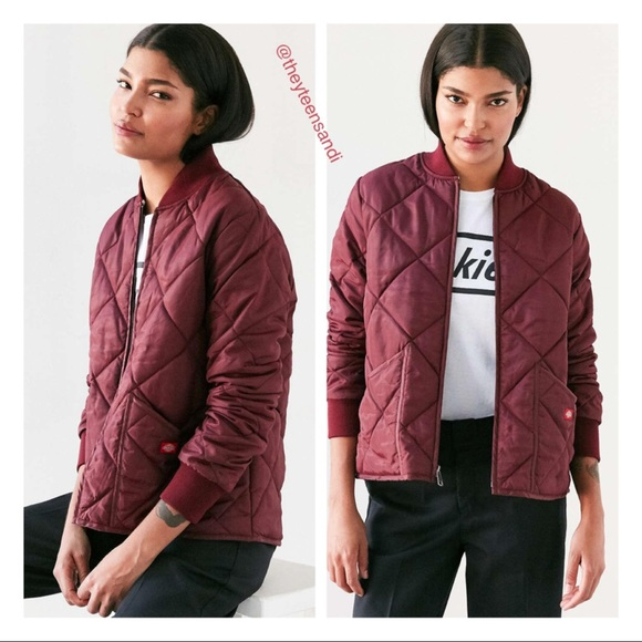 2c3c06c4b85c Urban Outfitter X Dickies Quilt Puffy Skate Jacket