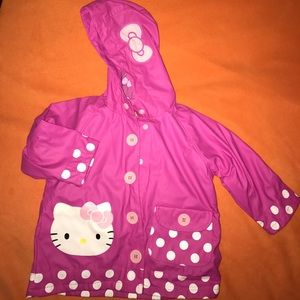 Western Chief Other - Western Chief Kids Hello Kitty rain jacket 2T