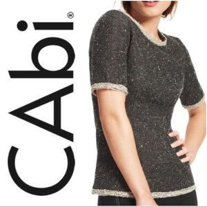 CAbi Tops - • { CAbi } • Coco sweater blouse. Size: M.