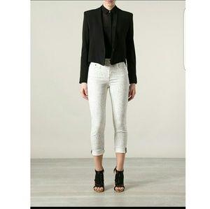 Proenza Schouler Denim - Proenza Schouler Coachella Speckled Skinny Jeans
