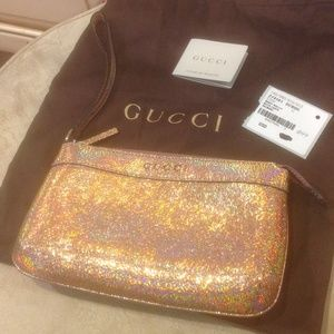 Gucci Nizza Laser Salmone wrislet