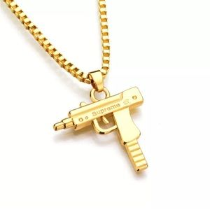 Supreme Other - 18K Gold Uzi Chain