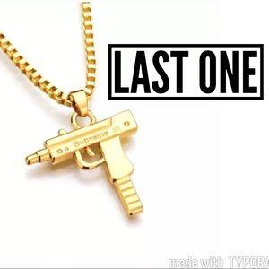 Supreme Other - Gold Uzi Chain