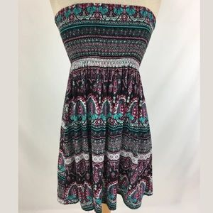 Derek Heart Dresses & Skirts - Boho strapless dress