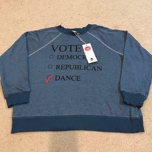 "Wildfox Sweaters - NWT Wildfox oversized thin ""Dance"" sweater"