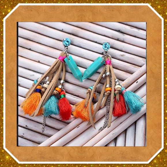 eManco Jewelry - Bohemian Tassel Earrings