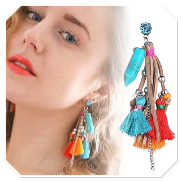 eManco Jewelry - Bohemian Tassel Earrings