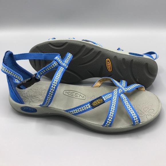 37a5b895bc32 Keen Shoes - Keen La Paz adjustable strap sandal size US 6 blue