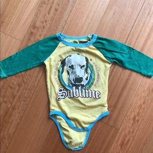 rowdy sprout  Other - Sublime Rowdy Sprout onesie. 6-12 months.