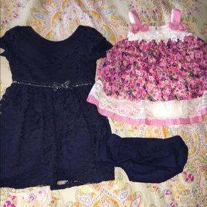 Bonnie Baby Other - 2 toddler dresses