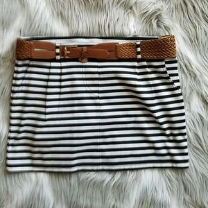 Alythea Dresses & Skirts - ALYTHEA DESIGN..NWOT..BLACK & WHITE..MINI SKIRT