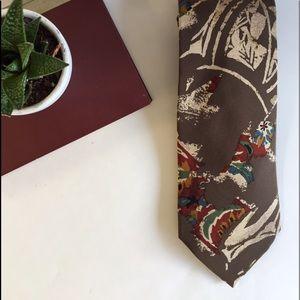 Vintage Men's Silk Tie
